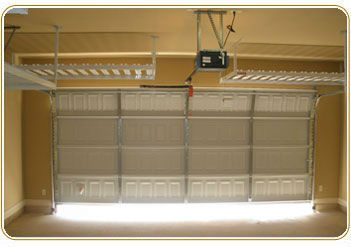 Overhead Garage Storage Racks Two Car Layout Image