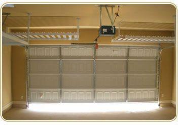 Overhead Garage Storage Racks Two Car Layout Image