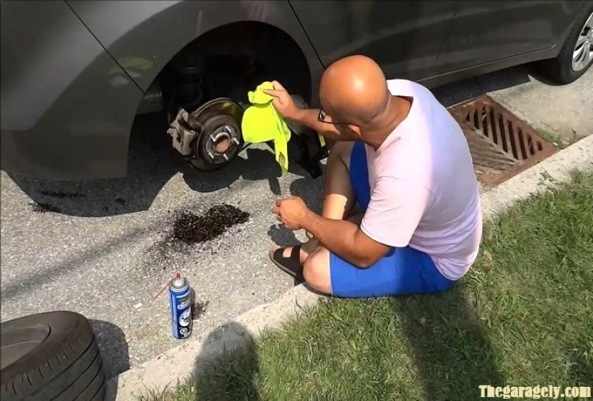 Cleaning Brake Rotors at Home