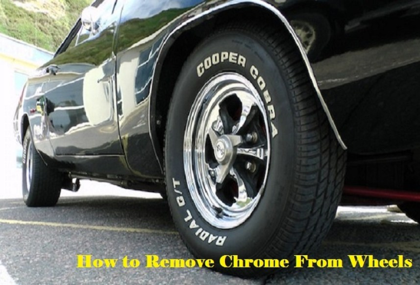 How to Remove Chrome From Wheels