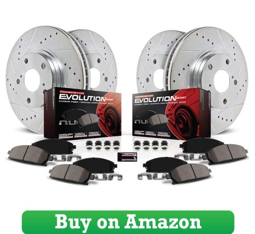 Power Stop K2068 Front and Rear Z23 Evolution Brake Kit