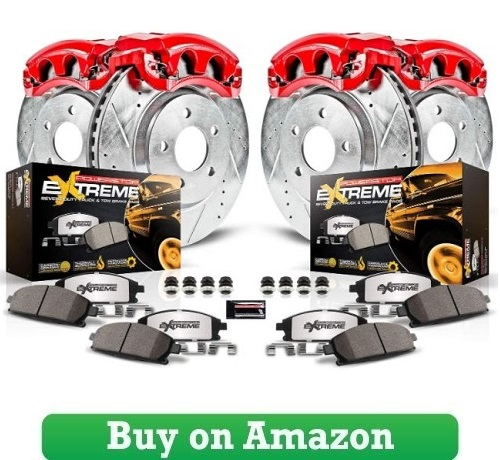Power Stop Truck and Tow Z36 Front- Rear Brake Pad, Rotor and Caliper Kit