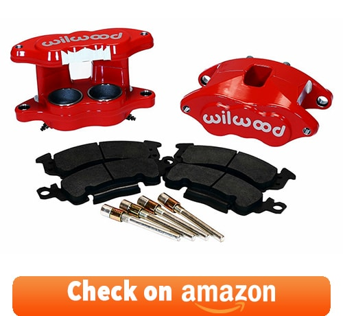 Wilwood Red D52 GM Brake Calipers & Pads review