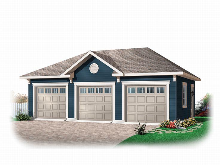 The Garage Plan Shop Blog » 3-Car Garage Plans