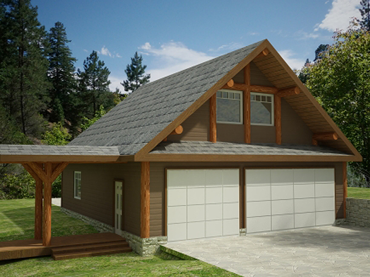 The Garage Plan Shop Blog » 3-Car Garage Plans