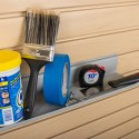 HandiWall Gray Utility Shelf
