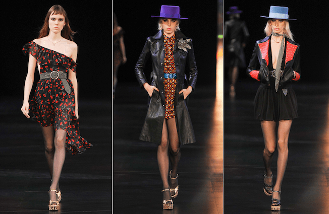 Saint_Laurent_The_Garage_Starlets_Paris_Fashion_Week_Spring_Summer_SS_2015_Ready_To_Wear_Collection_01