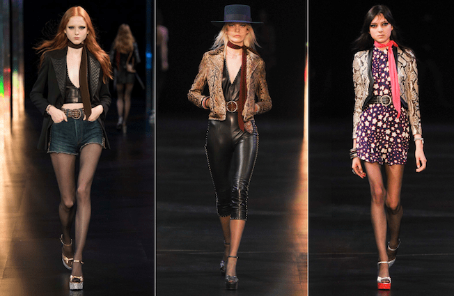 Saint_Laurent_The_Garage_Starlets_Paris_Fashion_Week_Spring_Summer_SS_2015_Ready_To_Wear_Collection_03