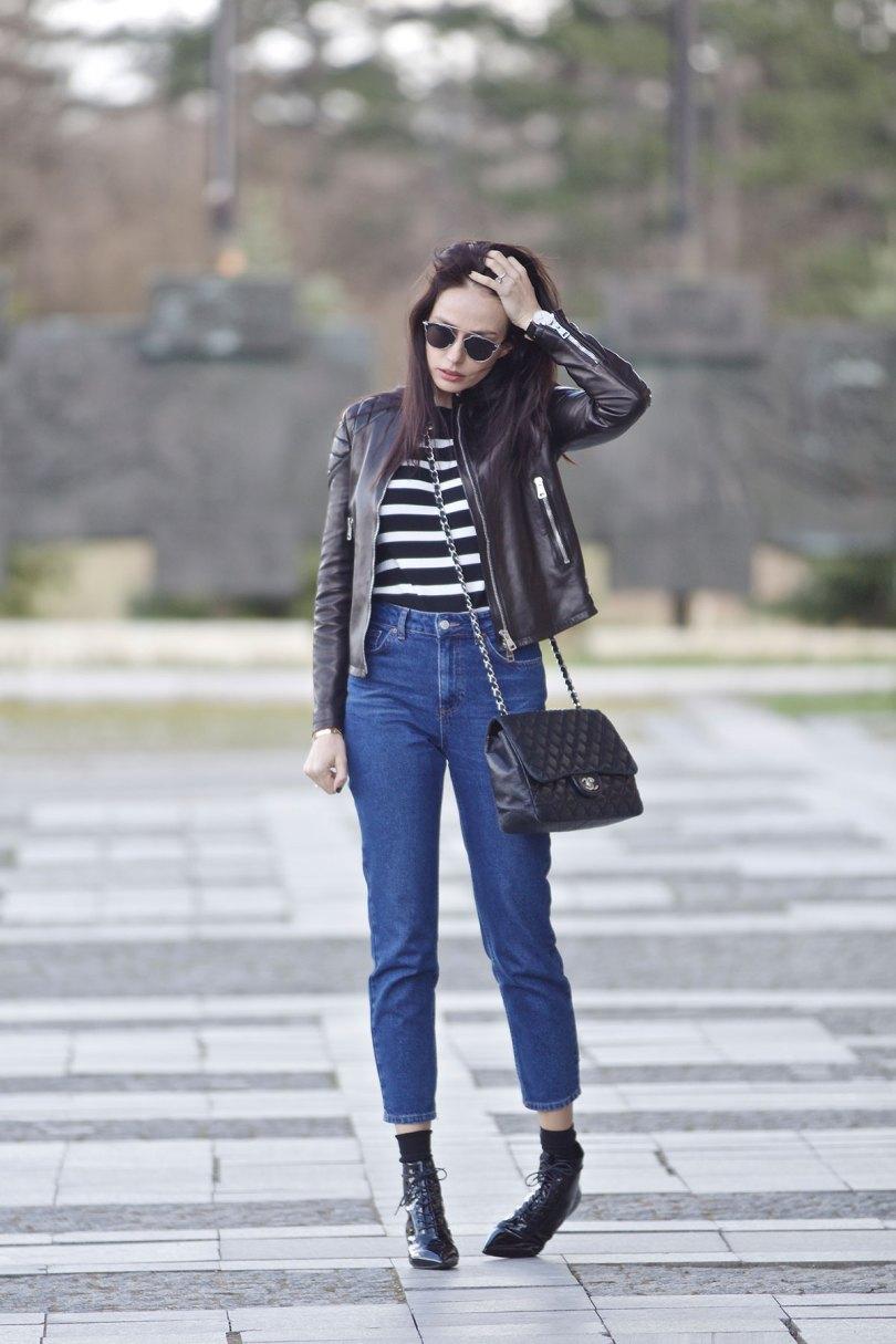 The_Garage_Starlets_Katia_Peneva_Popov_Gucci_Biker_Jacket_Zara_Topshop_Mom_Jeans_Chanel_Bag_Saint_Laurent_Ankle_Boots_Christian_Dior_Sunnglasses_12