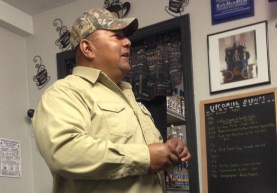 Gilbert left Fort Stockton 3/30/15 - and we're going to miss him! Not only a faithful regular customer (every morning, 6 days a week!!) but he's a GREAT guy - always with a smile, and easy to chat with. We wish him the best in all that he does!