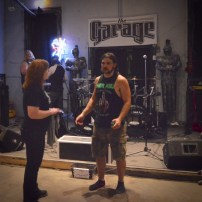 Kathy S with Cole (The Black Order, Drummer)