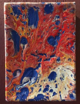 "Joe A Brooks ""Fire and Water"" $20 SOLD"