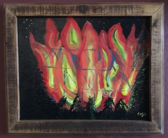 "Lisa C Hannon ""East Texas Burning"" $199"