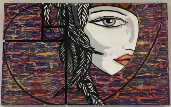 "Lori Griffin ""Maya"" $750 SOLD"