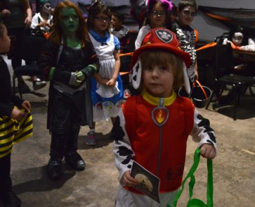 20181027 Halloween - 4-8 3rd place