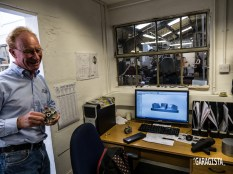 Philip explains new technology is used to produce classic components
