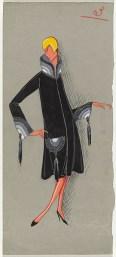 Jeanne Lanvin, Paris Fashion design 1927 Campbell-Pretty Fashion Research Collection National Gallery of Victoria, Melbourne