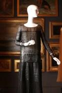 Lanvin, Paris fashion house France est. 1909 Jeanne Lanvin designer 1867–1946 Evening dress c. 1925 silk (chiffon, ribbon) The Dominique Sirop Collection National Gallery of Victoria, Melbourne
