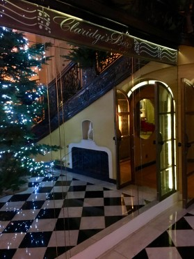 The foyer pre official Christmas launch, I miss it by a week!