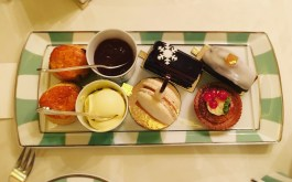 The Festive Afternoon Tea will have you wanting for nothing. Add a glass of Laurent-Perrier and you're in heaven.