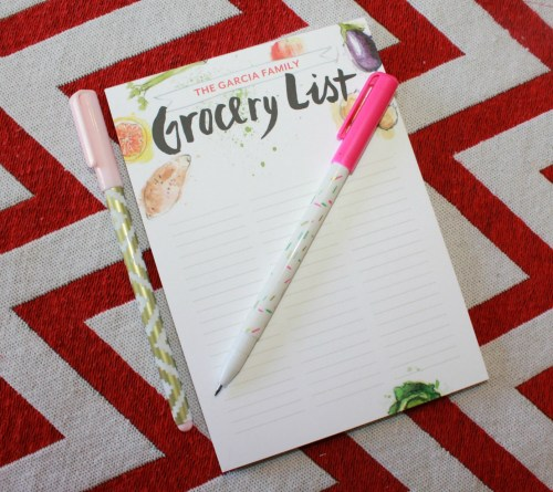Tiny Prints / Grocery shopping notepad