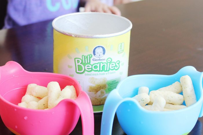 Healthy snacks for picky toddlers // Gerber Lil' Beanies