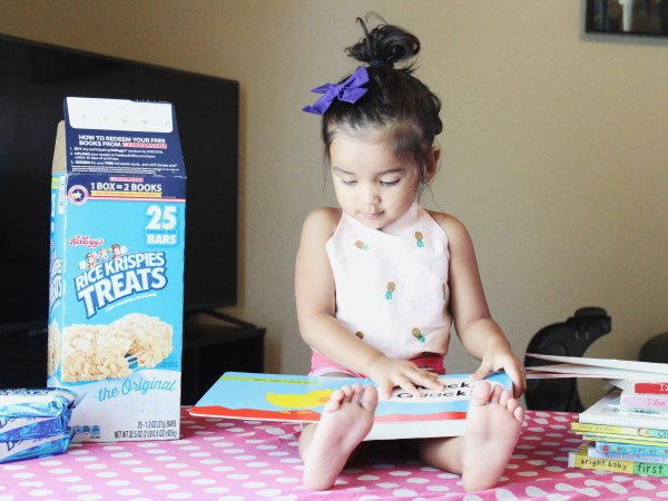 Reading List for Preschoolers (age 1-3) plus a free printable reading chart!