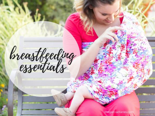 my top ten essentials for breastfeeding