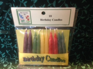 Tiny Taper Birthday Candles Multi-Coloured