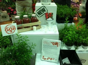 Goji Berry display