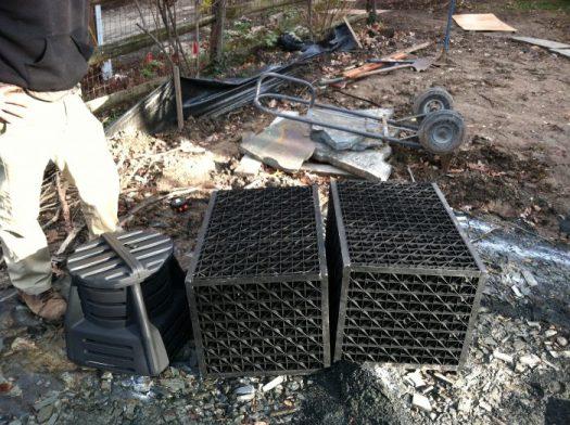 Matrix boxes and pump vault