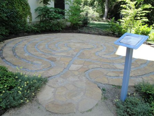 Another example of a Heart Space at a labyrinth courtesy Wikipedia