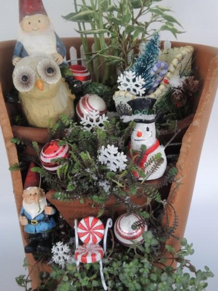 Christmas gnome home