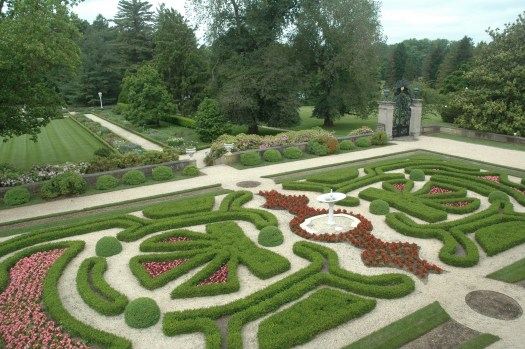 I saw this magnificent knot garden at Nemours, a Dupont estate in Delaware