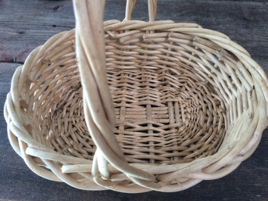 Chunky Basket with wide rim