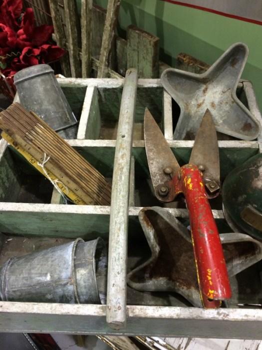 Old gardening tools