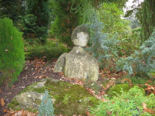 Moss can accent sculptural pieces