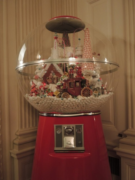 Gumball machine full of treats