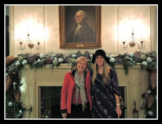 Myself and my daughter at the White House reception in 2015