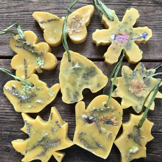 Scented Beeswax Sachets