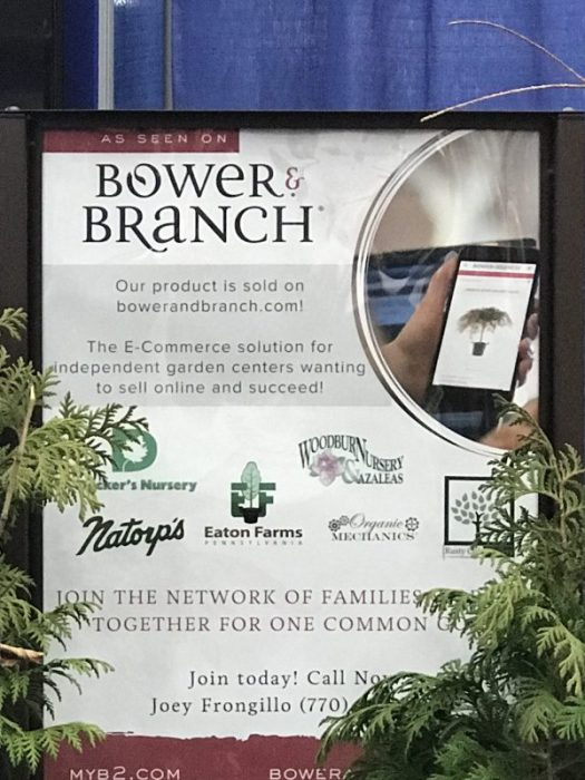 Bower & Branch is an e-commerce solution for independent garden centers