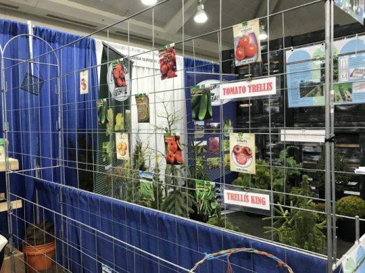 Garden trellis system