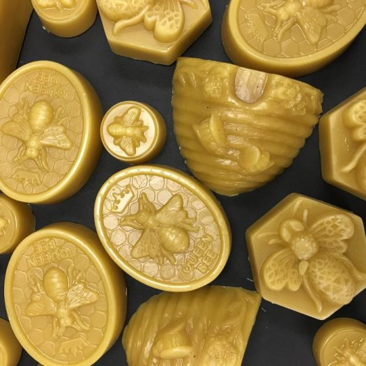Beeswax that I have poured into molds