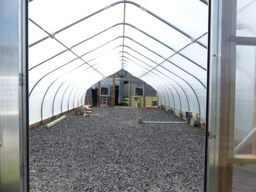 Brand new Greenhouses have been erected