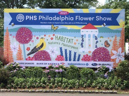 'Habitat Nature's Masterpiece' is the theme of the Philadelphia Flower Show