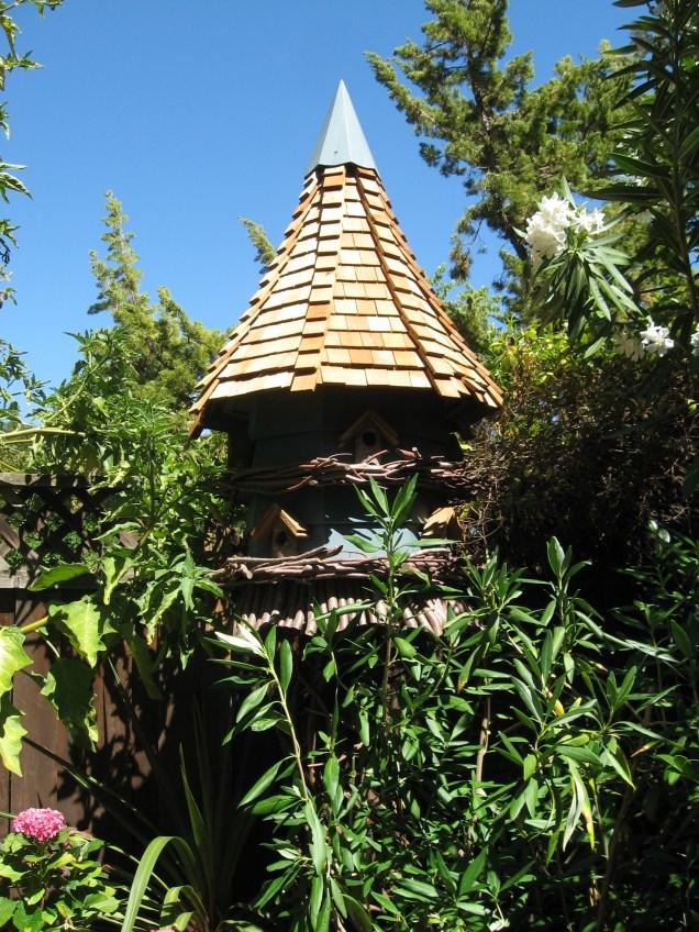 Unique bird house