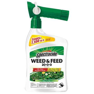 spectracide weed and feed