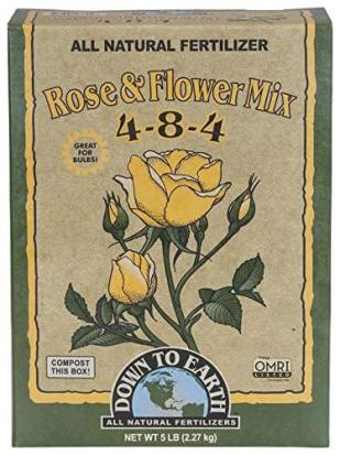 down to earth organic rose fertilizer