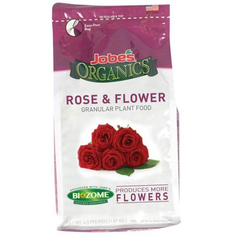 jobes organics flower and rose food