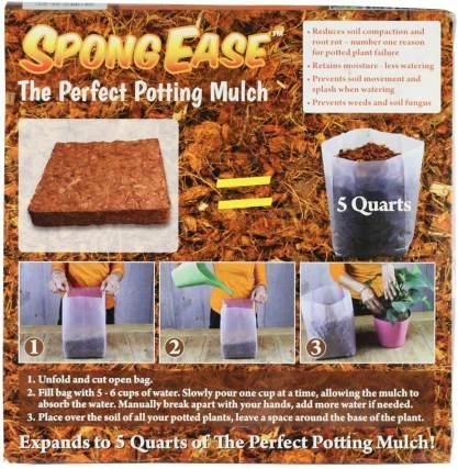SpongeEase Coco Fiber Mulch